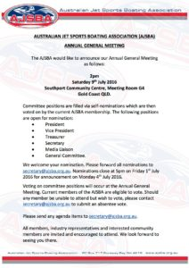 AGM Announcement